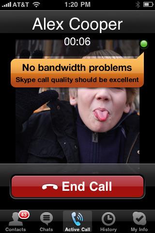 Skype update brings 3G calls, Unpleasant surprise