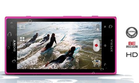 Sony Xperia acro S Waterproof Smartphone